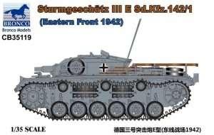 Sturmgeschutz III E Sd.Kfz.142/1 in scale 1-35 Bronco