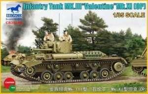 Infantry Tank Mk.III Valentine Mk.XI OP in scale 1-35