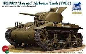 US M22 Locust Airborne Tank (T9E1) in scale 1-35