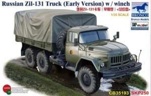 Russian Zil-131 Truck witch winch in scale 1-35