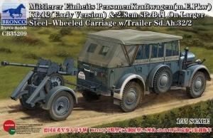 Mittlerer Einheit PersonenKraftwagen Kfz12 skala 1-35