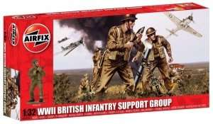 British IIWW Infantry Support Set scale 1:32