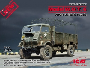 Model W.O.T.6 WWII British truck ICM 35507