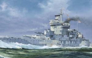 Model Trumpeter 05795 HMS Warspite 1942