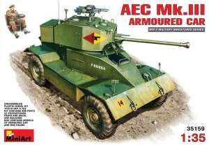 AEC Mk.III Armoured Car scale 1:35