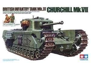 Model Tamiya 35210 British Infantry Tank Mk.IV Churchill Mk.VII