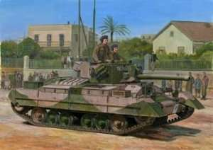 British tank Valentine Mk.IX scale 1:35