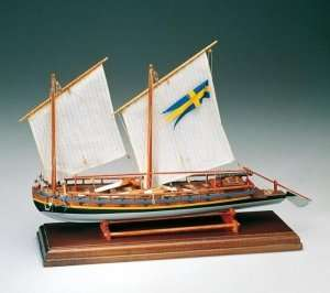 Cannoniera Svedese 1775 - Amati 1550 - wooden ship model kit