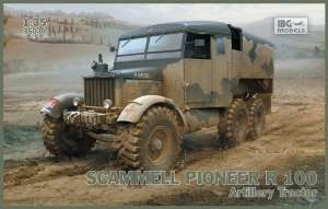 Scammell Pioneer R100 Artillery Tractor model IBG in 1-35