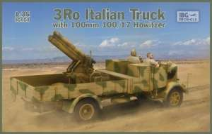 3Ro Italian Truck with 100mm 100/17 Howitzer model IBG in 1-35