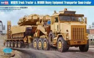 Model M1070 Truck Tractor and M1000 HET Semi-trailer 1:35