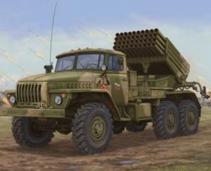 Russian BM-21 Grad Late Version model Trumpeter 01014