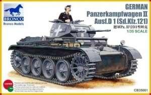 German Panzerkampfwagen II Ausf.D 1 (Sd.Kfz.121) 1:35