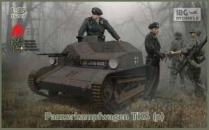 Panzerkampfwagen TKS (p) model IBG in 1-35