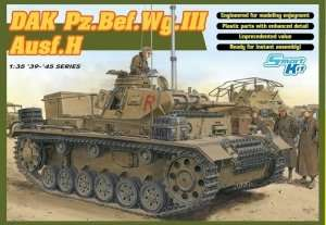 DAK Pz.Bef.Wg.III Ausf.H - model in scale 1-35