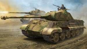 German Sd.Kfz.182 King Tiger Porsche Turret w/Zimmerit in 1:35 Hobby Boss 84530