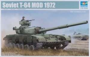 Trumpeter 01578 - Soviet Tank T-64 Mod. 1972 in scale 1-35