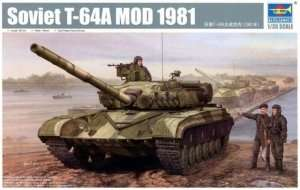 Trumpeter 01579 - Soviet T-64A Mod 1982 in scale 1-35
