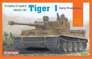 Tank Tiger I early production Dragon 7482