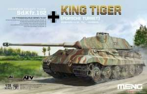 German Heavy Tank Sd.Kfz.182 King Tiger Porsche Turret in 1:35