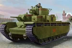 Soviet T-35 Heavy Tank - Early scale 1:35