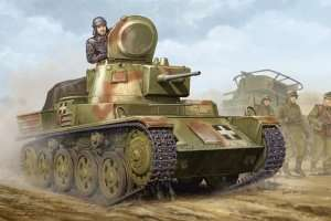 Hungarian Light Tank 38M Toldi II B40 in scale 1-35