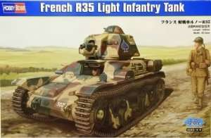 French R35 Light Infantry Tank scale 1:35