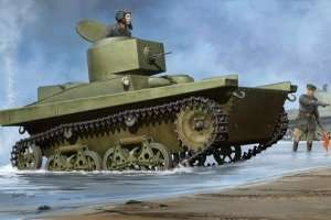 Soviet T-37A Light Tank (Podolsk) scale 1:35