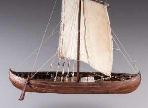 D013 Viking Knarr wooden ship model kit