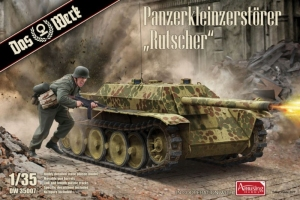 Panzerkleinzerstorer Rutscher model Das Werk in 1-35