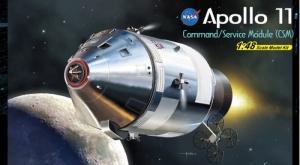 Apollo 11 Command / Service Module CSM Dragon in 1-48