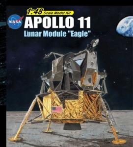 Apollo 11 Lunar Module Eagle model Dragon in 1-48