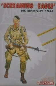 Soldier - division Screaming Eagle Normandy 1944 in scale 1-16