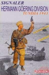 Signaler Hermann Goering Division Tunisia 1943 in scale 1-16