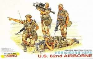 U.S. 82nd Airborne in scale 1-35 Dragon 3006