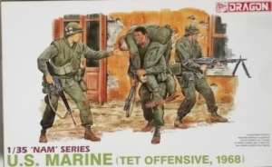US Marines TET Ofensive 1968 model Dragon 3305 in 1-35
