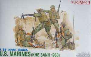 U.S. Marines Khe Sanh 1968 in scale 1-35