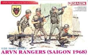 ARVN Rangers (Saigon 1968) figures Dragon 3314 in 1-35