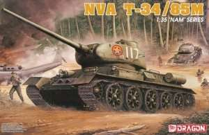 NVA T-34/85M in scale 1-35 Dragon 3318