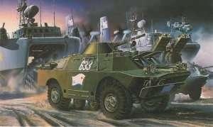 Model BRDM-2 in scale 1-35