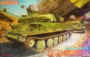 Model ZSU-23-4V1 Shilka in scale1-35
