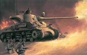 Israeli tank M-50 Super Sherman in scale 1-35 Dragon 3528