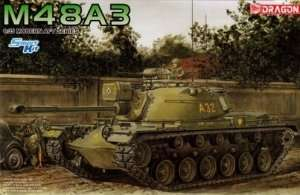Tank M48A3 in scale 1-35 Dragon 3546