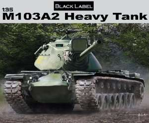 M103A2 Heavy Tank in scale 1-35 Dragon 3549