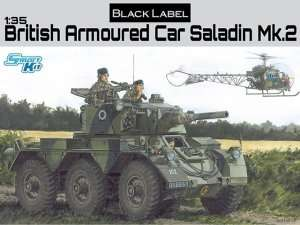 British Armored Car Saladin Mk.2 in scale 1-35