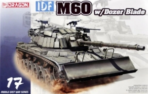 IDF M60 with Dozer Blade model Dragon 3582 in 1-35