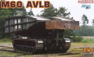 M60 AVLB Armored Vehicle Launched Bridge model Dragon 1-35