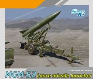 MGM-52 Lance Missile w/Launcher in scale 1-35