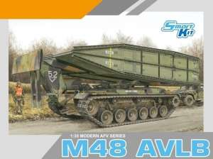 M48 AVLB in scale 1-35 Dragon 3606