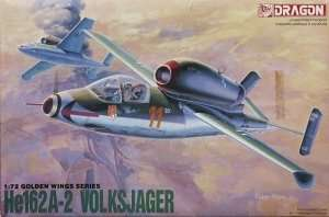Heinkel He162A-2 Volksjager in scale 1-72 Dragon 5001